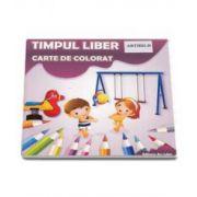 Timpul Liber. Carte de colorat cu abtibilduri