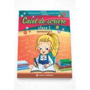 Caiet de scriere pentru clasa I, semestrul I - In conformitate cu noua programa scolara - Daniela Dulica
