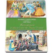 Cenusareasa si alte povesti de Fratii Grimm. Basmele copilariei ilustrate de Tony Wolf. Editie cu coperti cartonate