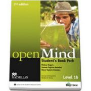 Mickey Rogers, Open Mind 2nd Edition Level 1B Student s Book Pack with DVD