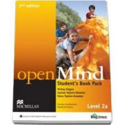 Mickey Rogers, Open Mind 2nd Edition Level 2A Student s Book Pack with DVD