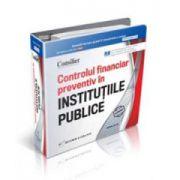 Adriana Ion, Consilier Controlul financiar preventiv in institutiile publice