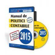Manual de politici contabile 2015. Format CD