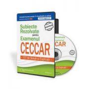 Subiecte rezolvate pentru examenul CECCAR - 127 de Solutii si Explicatii. Format CD