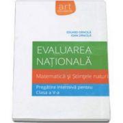 Evaluare nationala 2015. Matematica si Stiintele naturii pentru clasa a V-a. Eduard Dancila