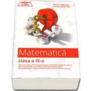 Perianu Marius - Matematica pentru clasa a IX-a - Clubul Matematicienilor