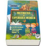 Georgia Madalina Nicolescu - Matematica si explorarea mediului. Exercitii si probleme, Teste de evaluare pentru elevii claselor I-II. Editia a VI-a, revazuta si adaugita