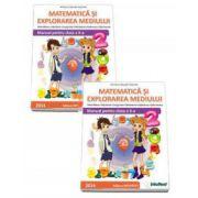 Matematica si explorarea mediului. Manual pentru clasa a II-a - Semestrele I si II - Contine editia digitala (Mirela Mihaescu)