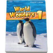 Curs de limba engleza World Wonders level 1 Workbook new editions, caietul elevului pentru clasa a V-a. National Geographic Learning