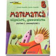 Matematica 2000 Consolidare 2015-2016 algebra, geometrie clasa a VIII-a partea I, semestrul 1 - Editia a IV-a, revizuita