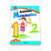Georgeta Matei, Activitati Matematice nivel 3-4 ani. Colectia Vreau sa stiu!