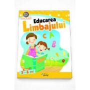Georgeta Matei - Educarea limbajului nivelul 5-6 ani. Colectia Vreau sa stiu!