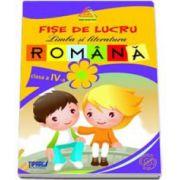 Fise de lucru limba si literatura romana auxiliar pentru clasa a IV-a - Colectia Campionii Scolii - Mov