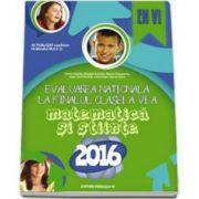 Bogdan Antohe - Evaluarea nationala 2016, la finalul clase a VI-a - Matematica si stiinte (EN VI)