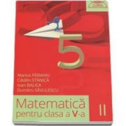 Dumitru Savulescu - Matematica pentru clasa a V-a - Clubul matematicienilor semestrul II - 2015-2016