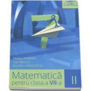 Dumitru Savulescu - Matematica pentru clasa a VII-a - Clubul matematicienilor semestrul II - 2015-2016