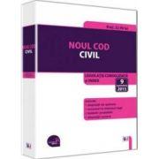 Noul Cod civil - Legislatie consolidata si index: 9 septembrie 2015