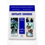 Constanta Vasilescu, Contracte Economice manual pentru clasa a XI-a. Filierea Tehnologica Profilul Servicii