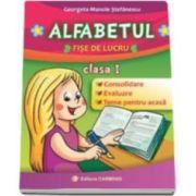 Georgeta Manole Stefanescu - Alfabetul, fise de lucru pentru clasa I. Consolidare, evaluare, teme pentru acasa