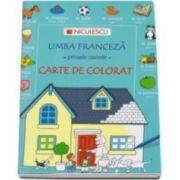 Heather Amery, Limba franceza, primele cuvinte - Carte de colorat