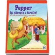 Sharon Streger, Pepper isi gaseste o familie