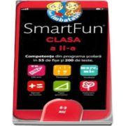 SmartFun, pentru clasa a II-a (8-9 ani), competente din programa scolara in 55 de fise si 200 de teste