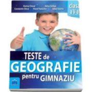 Dorina Cheval, Teste de Geografie pentru gimnaziu clasa a V-a