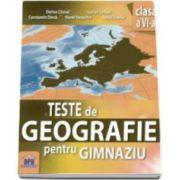 Teste de Geografie pentru gimnaziu clasa a VI-a