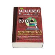Bacalaureat Matematica 2016 M - Matematica - Informatica. Ghid de pregatire pentru examen