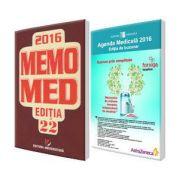 Pachetul Farmacistului. Agenda Medicala 2016, editia de buzunar si MemoMed 2016 - editia 22