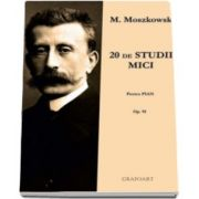 M. Moszkowski, 20 studii mici pentru pian - Opus 91