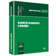 Andrei Viorel Iugan, Acordul de recunoastere a vinovatiei - Noul Cod de procedura penala
