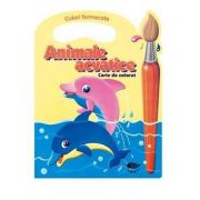 Animale acvatice. Culori fermecate - Varsta recomandata 3-6 ani