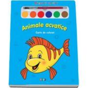 Animale acvatice. Miracolul culorilor - Varsta recomandata 3-6 ani