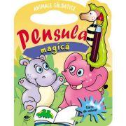 Animale salbatice. Pensula magica - Varsta recomandata 3-6 ani
