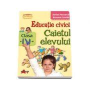 Educatie civica, caietul elevului pentru clasa a IV-a (Stefan Pacearca)