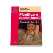 Planificare operationala manual pentru clasa a XI-a