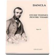 C. Dancla, Studii tehnice pentru vioara - Opus 74