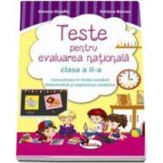 Simona Grujdin, Teste de evaluarea nationala clasa a II-a. Comunicare in limba romana si Matematica si explorarea mediului