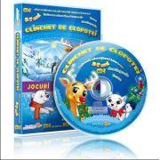 Clinchet de clopotei. Jocuri educationale 3-7 ani, CD 4 - Colectia Eduteca