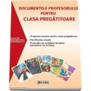 Documentele profesorului pentru clasa pregatitoare 2015-2016. Programe scolare pentru clasa pregatitoare, planificarea anuala, proiectari ale unitatilor tematice (semestrul I si al II-lea)