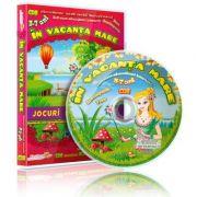 In vacanta mare. Jocuri educationale 3-7 ani, CD 8 - Colectia Eduteca