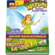 Natura se trezeste la viata. Invata in limba engleza. Jocuri educationale 3-7 ani CD 5 - Seria Anotipurile