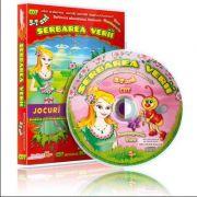 Serbarea verii. Jocuri educationale 3-7 ani, CD 7 - Colectia Eduteca