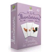 Vocabular - Familii de animale - Montessori