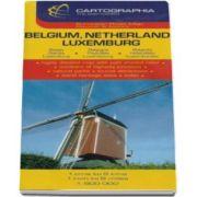 Harta rutiera Belgia, Olanda, Luxemburg