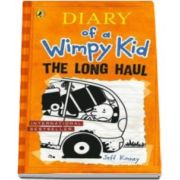 Jeff Kinney, Jurnalul unul pusti, Volumul 9 - In limba engleza. Diary of a Wimpy Kid Book 9 The Long Haul