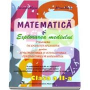 Alexandra Manea, Matematica si explorarea mediului. Culegere de exercitii aplicative pentru aprofundarea si consolidarea continuturilor matematice pentru clasa a II-a