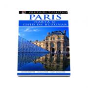 Paris - harta si ghid de buzunar