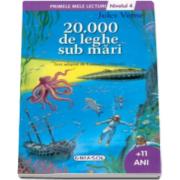 20. 000 de leghe sub mari, nivelul 4. Colectia Primele mele lecturi (+11 ani)